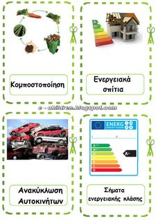 Los Niños: Καρτέλες Αναφοράς για την Ανακύκλωση Recycling, School, Children, Blog, Environment, Young Children, Boys, Kids, Blogging