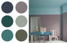 Blue&Grey dining room