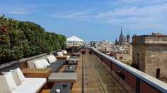Barcelona rooftop bars: Drinks with a view