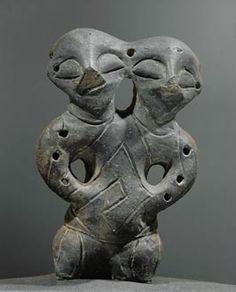 Vinca - double-headed figurine