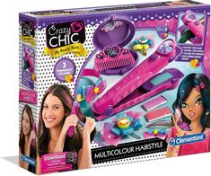 Crazy Girls, Crafts For Girls, Toys For Girls, Little Girl Toys, Little Girls, Hair Colora, Art Supplies Storage, Hair Kit, Toy Cars For Kids