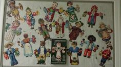 Paper marionettes Raphael Tuck & Sons, early 20th century Collection of K. Verhelle