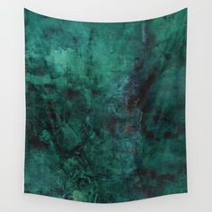 Deep Green Wall Tapestry by Quiet Melt. Worldwide shipping available at Society6.com. Just one of millions of high quality products available.