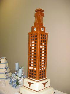 Ut Austin Tower Cake