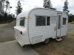 1967 Ken-craft Kencraft Vintage Travel Trailer Camper VERY RARE RV Canned Ham