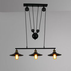 Retro-Hanging-Ceiling-Light-Vintage-Industrial-Pendant-Retractable-Pulley-Lamp