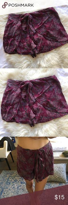 Free People Shorts Cute, boho, soft! Great condition. Free People Shorts Skorts