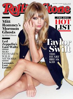 Taylor covers the latest issue of Rolling Stone magazine on newsstands now! Go behind the scenes from the shoot: http://rol.st/RjMqV0