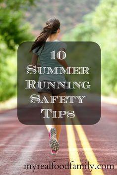 10 Summer Running Safety Tips