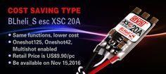 DYS Cost Saving Type BLheli_S ESC XSC20A