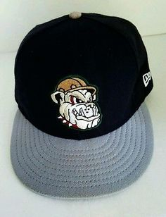 4933d8d142e NEW ERA MAHONING VALLEY SCRAPPERS FITTED HAT CLEVELAND INDIANS MILB 7 3 8