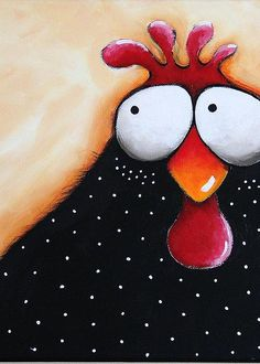 Details about ACEO Print Folk Art illustration whimsical bird painting chicken soup ACEO Print Folk Art illustration whimsical bird painting chicken soup Chicken Painting, Chicken Art, Chicken Soup, Acrylic Painting Canvas, Canvas Art, Canvas Prints, Art And Illustration, Chickens And Roosters, Whimsical Art