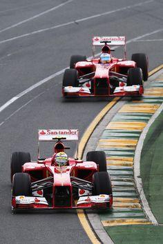 Ferrari at the 2013 Australian Formula One Grand Prix