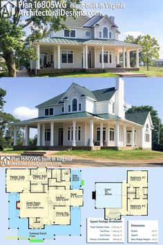 Cool House Plans With Wrap Around Porches   Modern Style House Design Ideas  #houseplans #