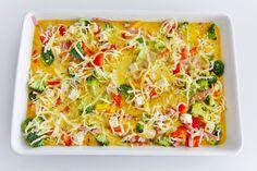 baked omelett - martheborge  breakfast idea
