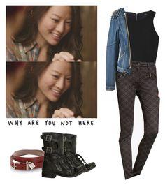 Kira Yukimura - tw / teen wolf by shadyannon on Polyvore featuring polyvore fashion style TIBI Tinseltown AllSaints BOSS Hugo Boss clothing