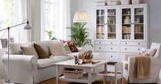 Ideas y detalles para decorar nuestro salón con la serie Ikea Hemnes
