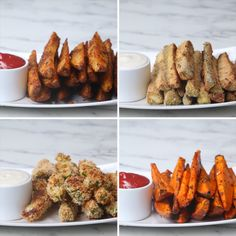 Veggie Wedges 4 Ways - Vegetable Recipes Vegetable Recipes, Vegetarian Recipes, Cooking Recipes, Healthy Recipes, Vegan Meals, Diet Recipes, Vegetable Snacks, Top Recipes, Side Dishes