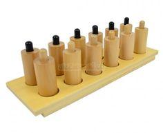 Cylindry naciskowe - pomoce Montessori - Sklep aleZabawki.co