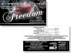 Freedom - Extreme (Convite)