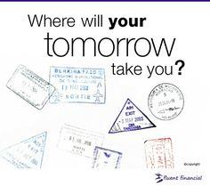 Where will tomorrow take you?