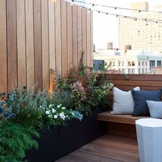 Snippet of a small terrace just completed  @ncott #roof #terrace #roofgarden #gardendesign #harrisongreen