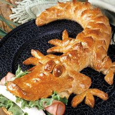 Baby Alligator Bread | Cajun Cooking Recipes | Just A Pinch Recipes