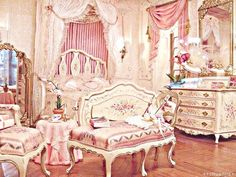Ideas For Bedroom Classic French Shabby Chic Shabby Chic Bedrooms, Shabby Chic Decor, Girls Bedroom, Bedroom Decor, Bling Bedroom, Bedroom Furniture, Wooden Bedroom, Bedroom Interiors, Rustic Interiors