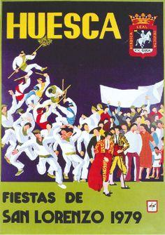 Fiestas de San Lorenzo, año 1979