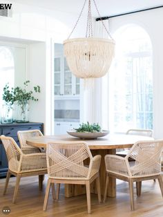 63 Contemporary Dining Room Interior Design Ideas www.futuristarchi… 63 Contemporary Dining Room Interior Design Ideas www. Dining Room Design, Dining Room Furniture, Dining Room Chairs, Furniture Ideas, Dining Room Chandeliers, Dining Area, Outdoor Furniture, Rattan Chairs, Large Chandeliers