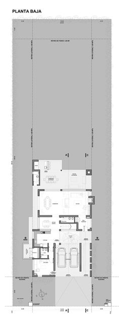 House Patio,Ground Floor Plan