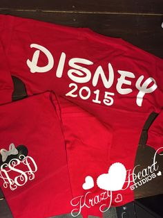 Disney Spirit Jersey - Glitter Vinyl - Disney Monogram - Long Sleeve by KrazyHeartStudios on Etsy https://www.etsy.com/listing/259298460/disney-spirit-jersey-glitter-vinyl