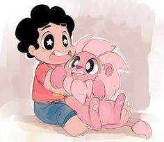 Steven Universe // sketchit26:   Tiny Lion