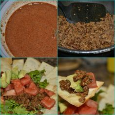 Homemade Taco Sauce -  Sarah Simply Me This is so simple it's ridiculous - good bye prepackaged taco seasoning!