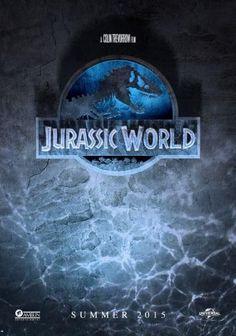 Jurassic World Movie Poster Standup 4inx6in