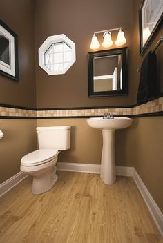 guest bathroom - powder room design ideas: 20 photos | powder room