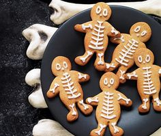 Gingerbread Skeleton Men | ASDA Recipes