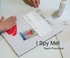 I Spy Me by Teach Preschool