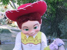 Jessie; Toy Story - Disneyland Anaheim