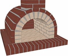 Directions on How to Build a Mattone Barile Firebrick Wood Fired Brick Pizza Oven