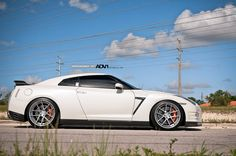 Nissan GT-R with ADV.1 Wheels