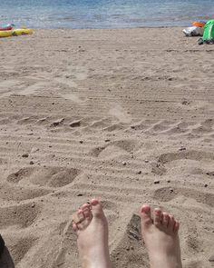 Summer toes! Sääksjärvi lake in Nurmijärvi, Finland.