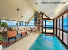 An Architecturally Significant Landmark In Honolulu Realestate Luxury Homes Interior