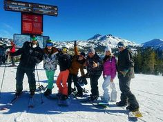 Today was a good day! #Kirkwood #Tahoe #Snowboarding #AnnualTrip #SnowLife #Snowbunnies #NewYears #cocoloco
