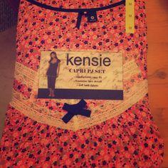 Capris PJ set Never used pj set ! Jersey material Kensie Intimates & Sleepwear Pajamas