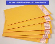 Torrance California Packaging Kraft Bubble Mailers. Kraft Bubble Mailers are popularly being used as mailing accessories in offices and households, highly durable design with the light weight air-bubble sheet layer on the inner side of envelope. And Pacdepot also offers you Torrance California Packaging Kraft Bubble Mailers. Read more about Torrance California Packaging Kraft Bubble Mailers at http://pacdepot.com/blog/torrance-california-packaging-kraft-bubble-mailers.html