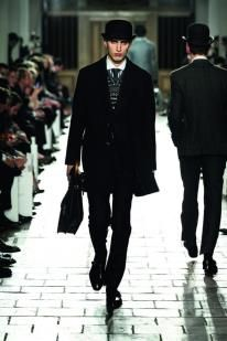 Hackett's second appearance at London Collections: MEN, 2013