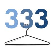 The Project 333 minimalist fashion diet. (So far I have done one 3-month stint.) #slowfashion