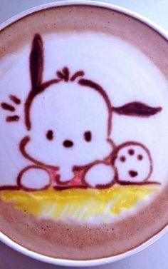 #Latte art :*¨¨*:Coffee♥Art:*¨¨*: #coffee #puppy→follow← my board  @ ★☆Danielle ✶ Beasy☆★