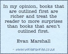 Evan Marshall - Writers Write Creative Blog